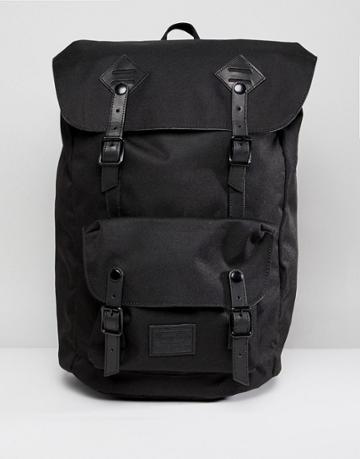 Doughnut American Vintage Backpack In All Black - Black