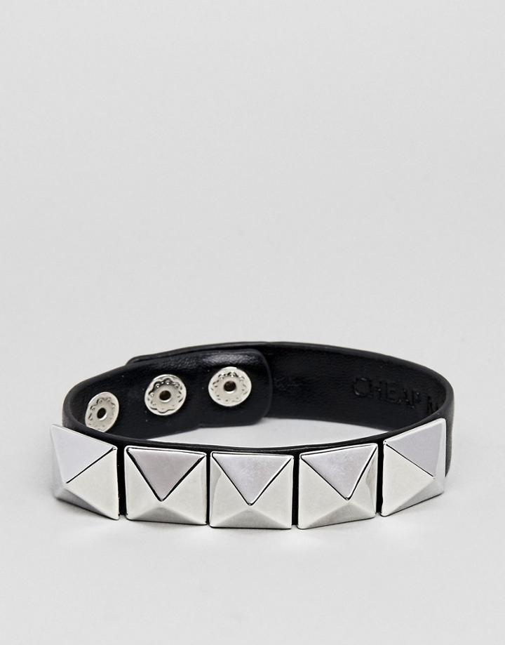 Cheap Monday Hard Bracelet - Silver