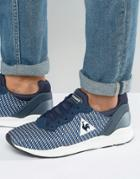 Le Coq Sportivf R Xvi Geo Jacquard Sneakers - Blue