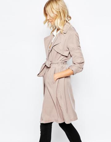Pepe Jeans Duster Trench - Beige