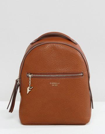 Fiorelli Mini Anouk Tan Tumbled Backpack - Tan