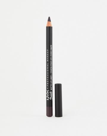 Nyx Professional Makeup Suede Matte Lip Liners - Doom - Pink