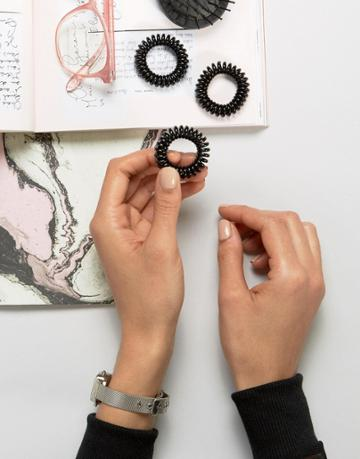 Invisibobble Power Strong Hair Tie - Black - Black