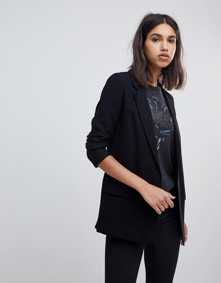 Allsaints Aleida Tailored Blazer - Black