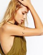 Asos Moon And Star Arm Cuff - Gold