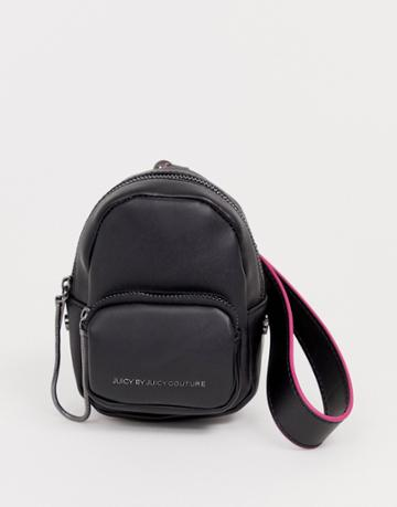 Juicy Aspen Super Mini Backpack In Black
