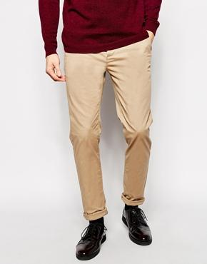 Asos Stretch Slim Chinos - Stone