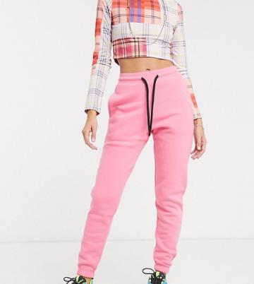 Collusion Skinny Jogger In Pink