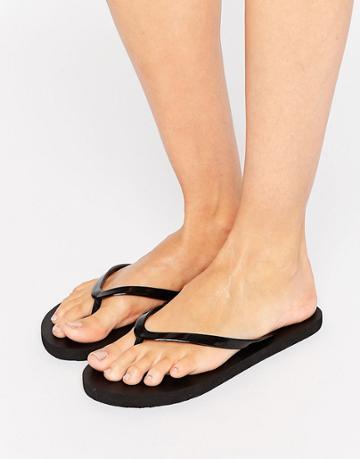 Vero Moda Flip Flops - Black