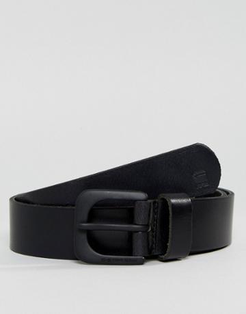 G-star Leather Belt - Black