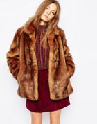 Urbancode Faux Grizzly Fur Jacket - Grizzly