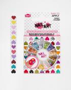 Heart Nail Gem Wheel & Nail File - Multi