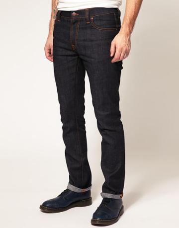Nudie Jeans Thin Finn Skinny Jeans Dry Twill