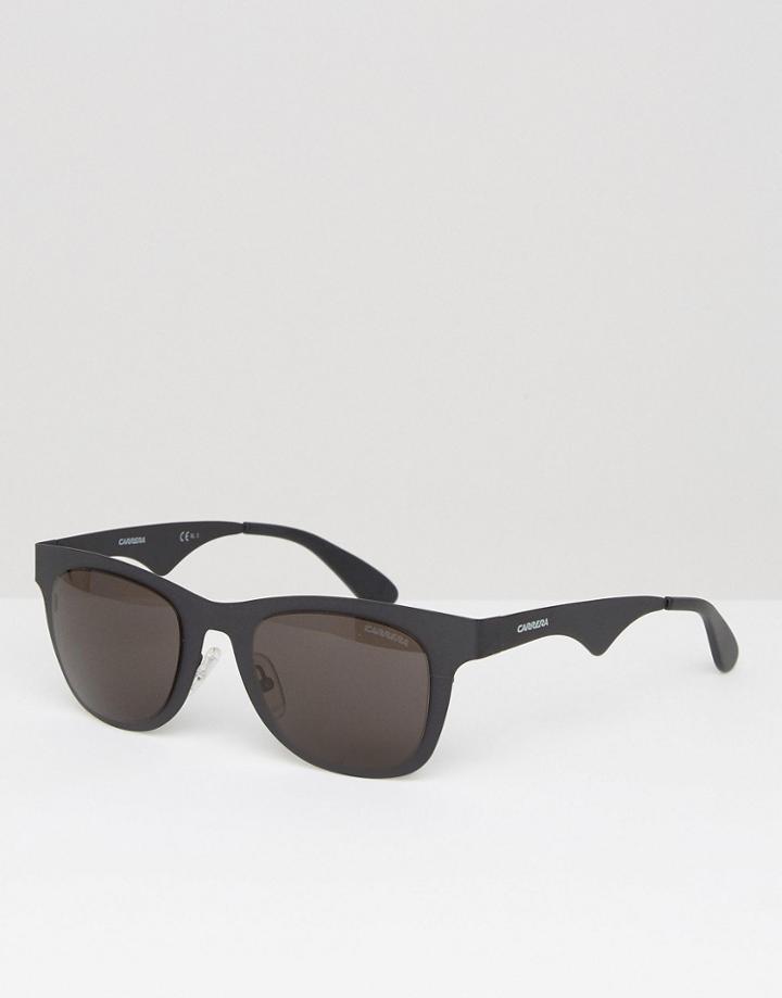 Carrera Square Sunglasses In Black - Black