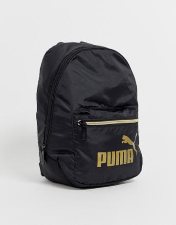 Puma Core Archive Mini Black Backpack - Black
