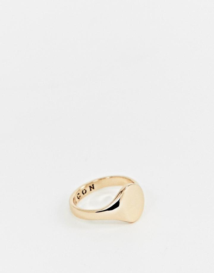 Icon Brand Gold Signet Ring