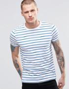 Asos Stripe T-shirt - White