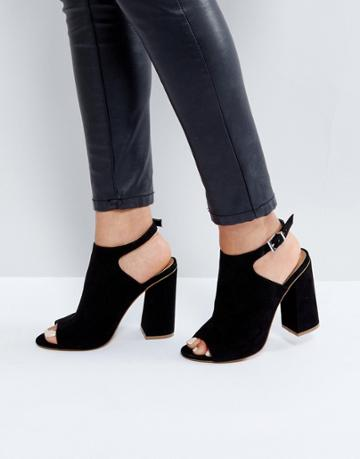 Asos Headshot Heels - Black
