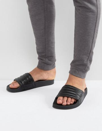 Slydes Port Slider Flip Flops - Black