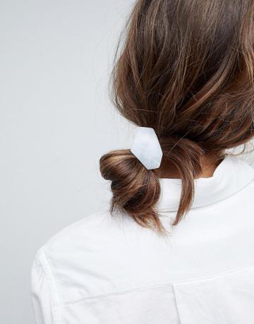 Asos Resin Shape Disc Hair Tie - Multi