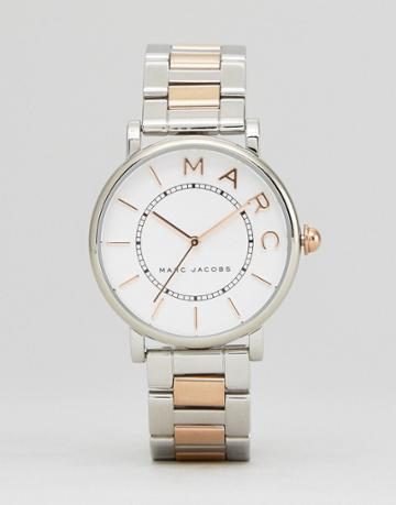 Marc Jacobs Mixed Metal Roxy Watch - Gold
