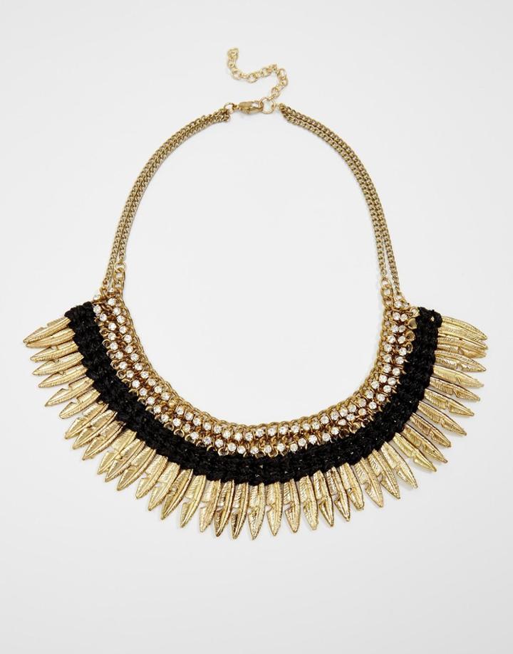 Raga Feather Necklace - Copper