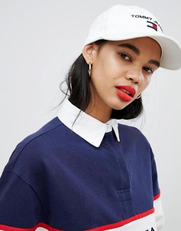 Tommy Jeans 90s Capsule 5.0 Sailing Cap - White