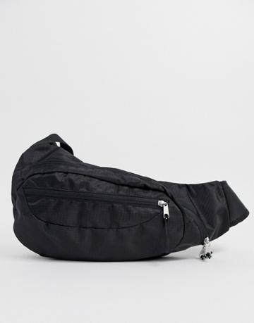 Monki Cross Body Bag In Black - Black