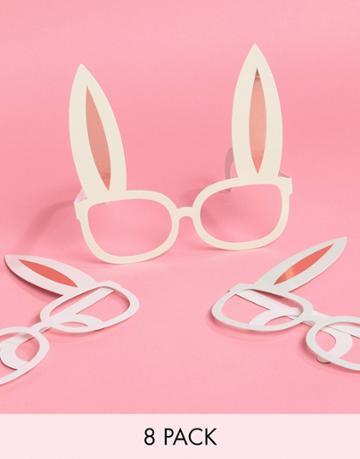 Ginger Ray Easter Bunny Glasses 8-pack - Multi