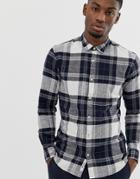 Only & Sons Checked Shirt - Blue