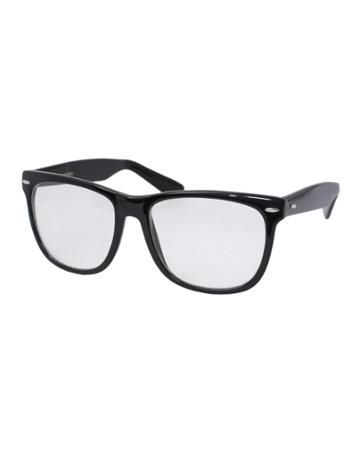 Asos Wayfarer Glasses With Clear Lens