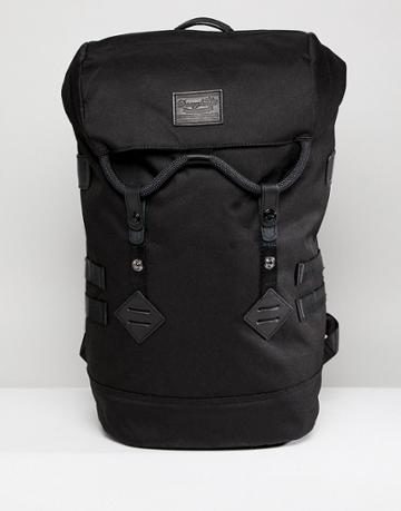 Doughnut Colorado Backpack In All Black - Black