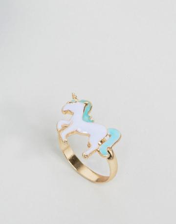 Asos Unicorn Ring - Multi