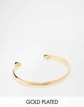 Asos Gold Plated Bangle - Gold