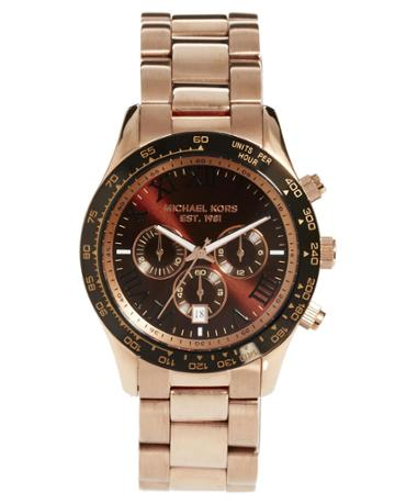 Michael Kors Watch Mk8247 Rose Gold Stainless Steel Bracelet