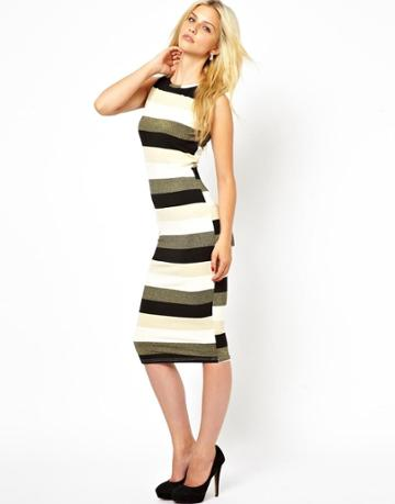 Ax Paris Stripe Dress