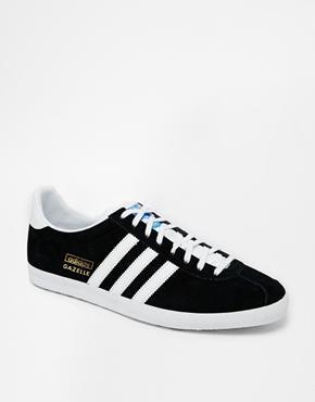 Adidas Originals Gazelle Og Sneakers - Black