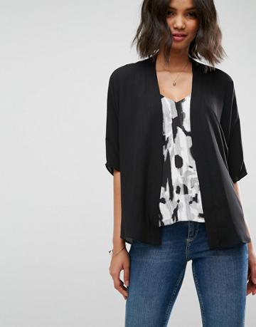 Asos Design Kimono - Black