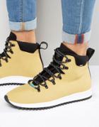 Native Ap Apex Laceup Boots - Tan