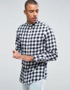 Produkt Check Shirt - Navy