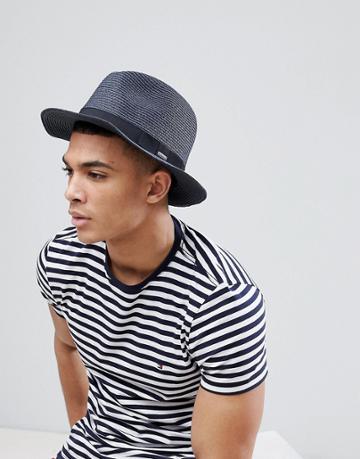 Barts Aveloz Summer Trilby Hat - Navy