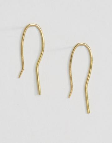 Made Spike Earrings - Gold