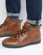 Call It Spring Kedaresen Laceup Boots - Tan