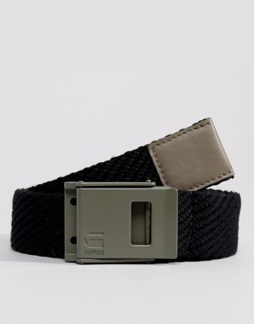 G-star Woven Belt - Black