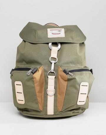 Doughnut Nevada Backpack In Forest Green - Green