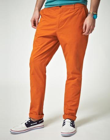 Asos Slim Chino - Orange