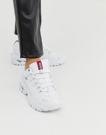 Skechers Energy Sneakers In White - Multi