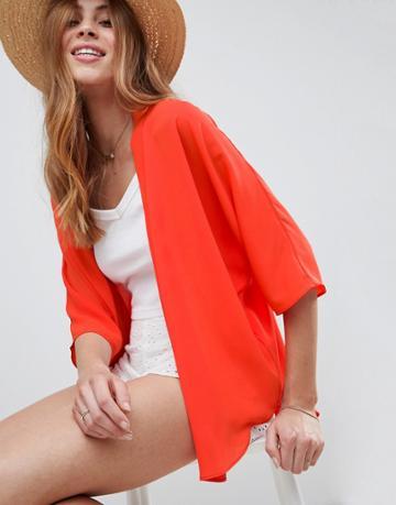 Asos Design Kimono - Orange