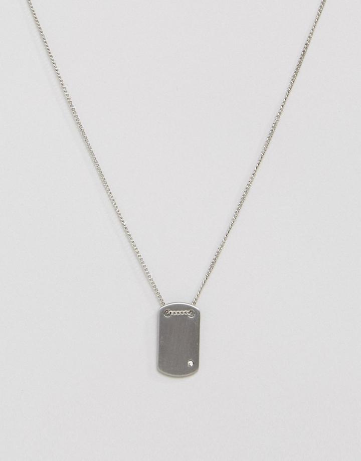 Pieces Parisa Necklace - Silver