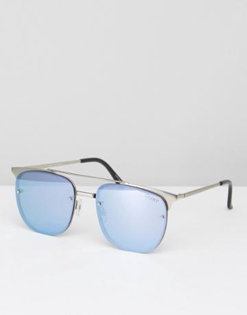 Quay Australia Private Eve Sunglasses - Blue